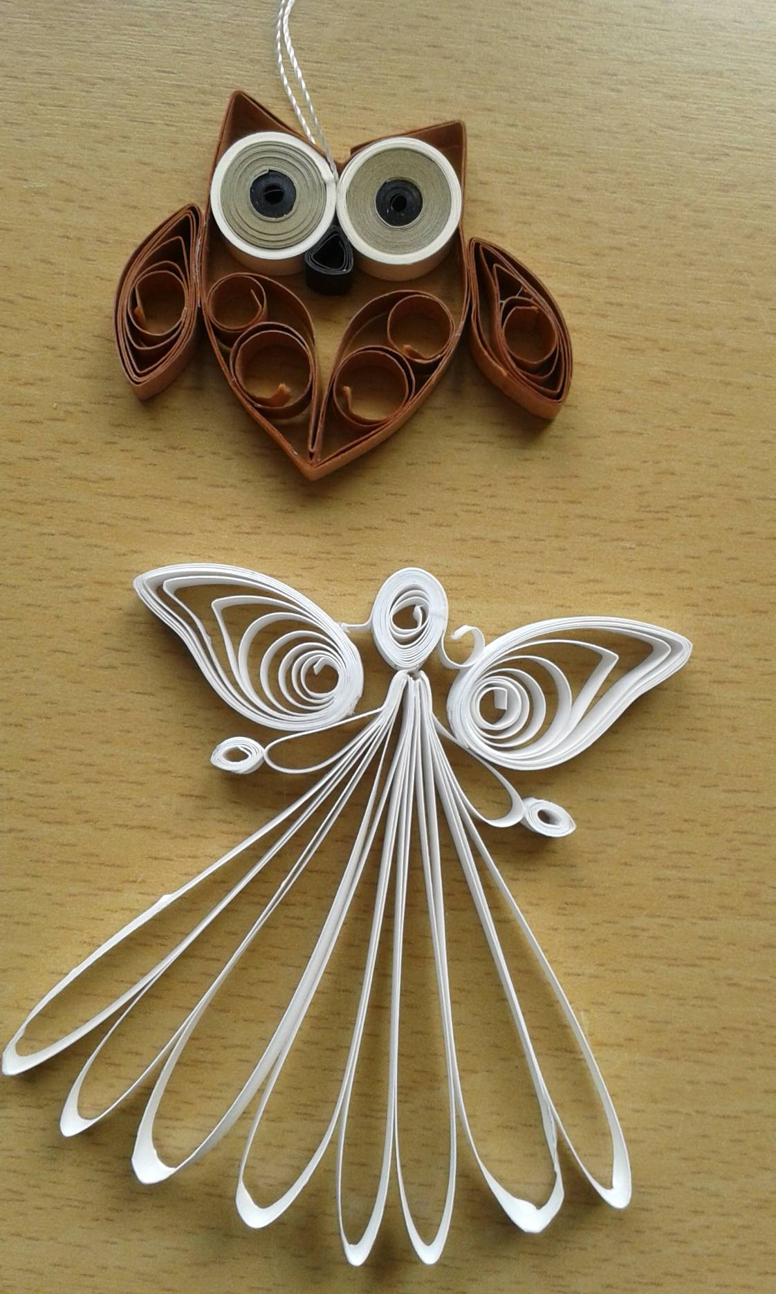 Quilling Engel